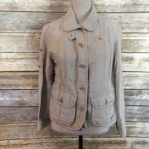 Gap Button Lightweight Jacket, Size XS